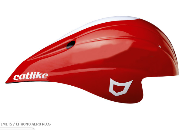 Casque Chrono aero plus rouge