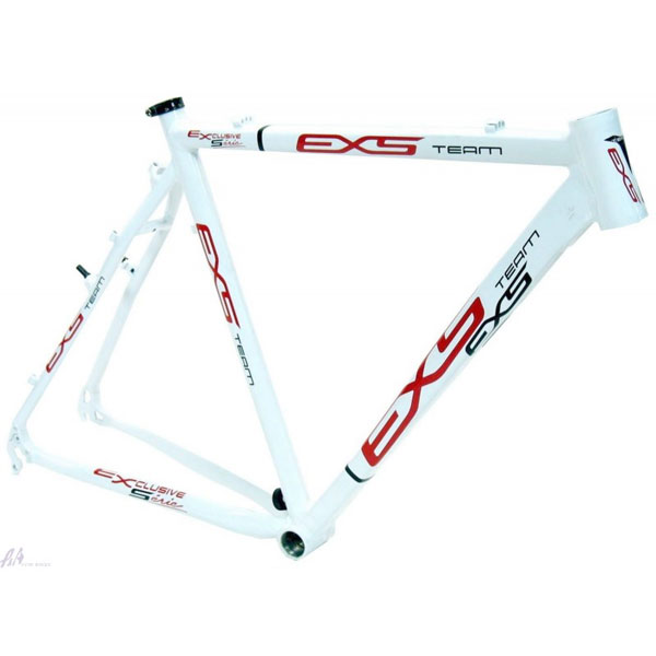 Cadre EXS cyclo-cross blanc