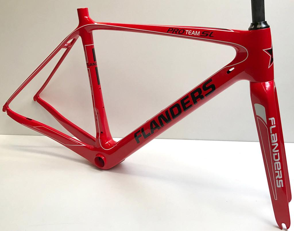 Cadre light Pro-Team SL rouge