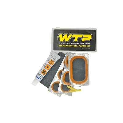Kit r paration rustines et colle marque wtp - Kit reparation carbone ...